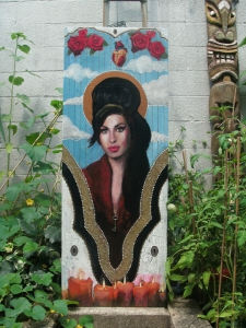 Kat's Winehouse painting. Image hers.